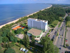 Novotel Gdańsk Marina to jeden z wielu popularnych obiektów konferencyjnych w tym mieście
