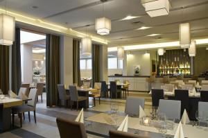 Piękna i elegancka restauracja Hotelu Best Western Petropol w Płocku