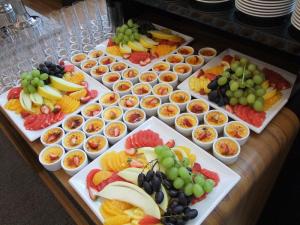 Jedna z propozycji cateringu podczas spotkania