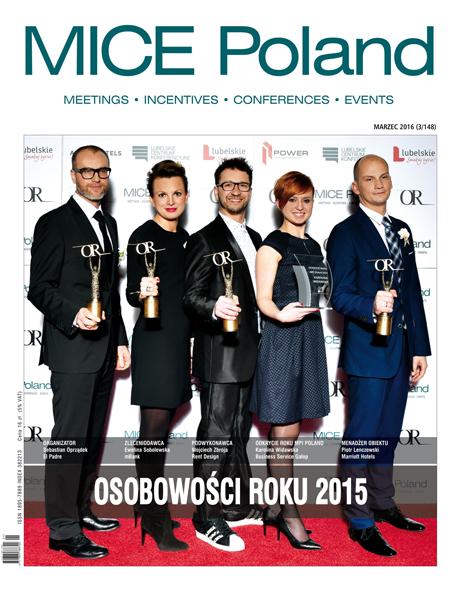 Osobowości Roku MICE Poland 2015 wybrane