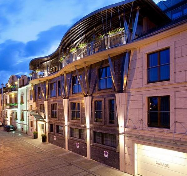 Art Hotel Niebieski Spa Kraków Ul Flisacka 3