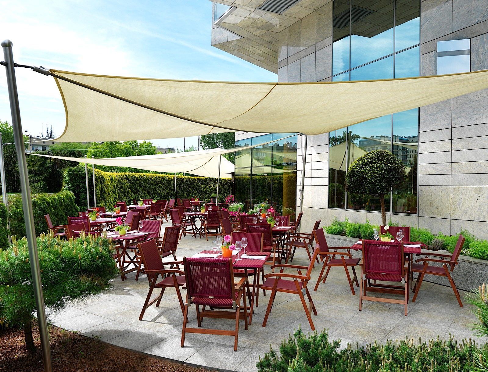 Hotel regent warsaw sala konferencyjna warszawa for Open terrace restaurants